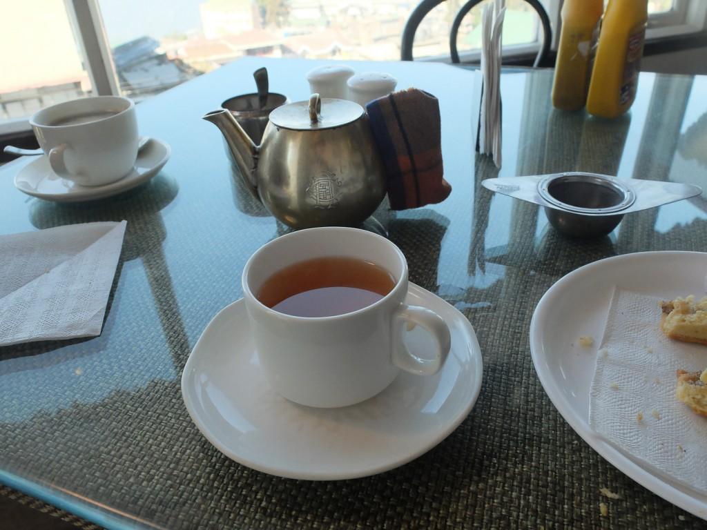 du thé à Darjeeling